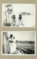BREST - école Navale,bateaux De Guerre (photos En 1918, Format 8,1cm X 5,6cm) - Boten
