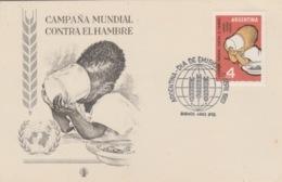 19 / 9 / 438.  -  CARTE   CAMPANA  MUNDIAL   - ARGENTINE  - 1er  Jour  - 6. Avril. 1963 - Stamp's Day