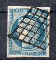 YT N° 4 - Cote: 65,00 € - 1849-1850 Ceres
