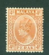 Malaya - Perak: 1935/37   Sultan Iskandar   SG90    4c     MH - Perak