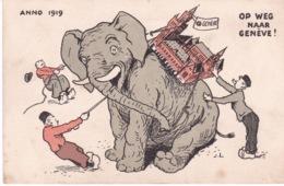 SUISSE(GENEVE) ELEPHANT(1919) - GE Geneva