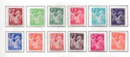 FRANCE 1939-40:  Lot De Timbres Neufs* Au Type 'Iris'   TB - Frankreich