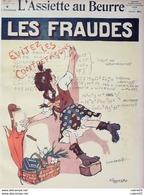 L'ASSIETTE AU BEURRE-1909-447-LES FRAUDES-POULBOT-PONCET - Libri, Riviste, Fumetti