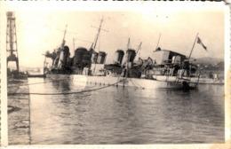 Thematiques Navires De Combats Sabordage Ou Vaisseaux Coulé Guerre 1939 1945 Mogador - Guerra, Militares