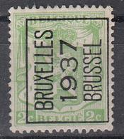 BELGIË - PREO - 1937 - Nr 321 A  - BRUXELLES 1937 BRUSSEL - (*) - Precancels