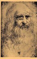 Léonard De Vinci (Turin - Palais Royal) - Portrait De L'artiste - Peintures & Tableaux