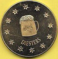 100 DIESTERS 1982 DIEST - Jetons De Communes