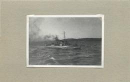 BATEAU DE GUERRE - Torpilleur 349 (photo  Années 20, Format 8,3cm X 5,6cm) - Boats