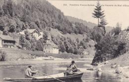 Frontière Franco-Suisse - La Verrerie Du Bief D'Etoz - Zoll