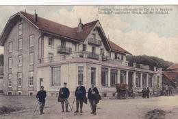 Frontière Franco-Allemande Au Col De La Schlucht - Deutsch-Französische Grenze Auf Der Schlucht - Zoll