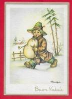 CARTOLINA VG ITALIA - Bambino Con Cornamusa - MARIAPIA - Ediz RINUP - 10 X 15 - 1961 GIORNATA DEL FRANCOBOLLO - Altri