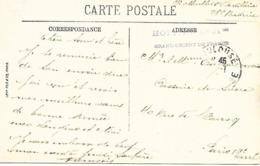 31-cachet Hôpital N°31 Bis -Grand Orient De France Sur Belle CP De Toulouse En 14/18 - Poststempel (Briefe)