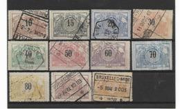 België Spoor N° 15/27 Cote 58 Euro - Bahnwesen
