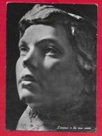 CARTOLINA VG ITALIA - L'Anima E La Sua Veste - FRA CLAUDIO PROF. GRANZOTTO - 10 X 15 - 1965 CHIAMPO - Sculture