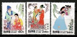 Korea North 1998 Corea / Fairy Tales Legend MNH Leyendas / Cu13010  34-18 - Cuentos, Fabulas Y Leyendas