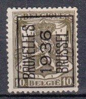 BELGIË - PREO - 1936 - Nr 314 A  - BRUXELLES 1936 BRUSSEL - (*) - Precancels