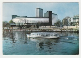 75 Paris N°71 La Maison De La Radio En 1968 Bateau Mouche - Sonstige Sehenswürdigkeiten