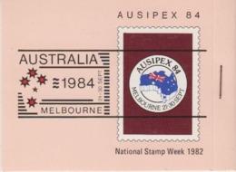 AAT 1984 Ausipex Booklet With AAT Ships Stamps ** Mnh (44814) - Australisch Antarctisch Territorium (AAT)