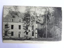 CP (72) Sarthe - CHAHAIGNES - Château De La Jaille - Other Municipalities