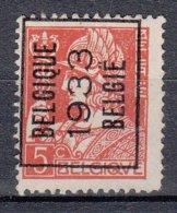 BELGIË - PREO - Nr 261A (Mercurius)  BELGIQUE 1933 BELGIË - (*) - Typo Precancels 1932-36 (Ceres And Mercurius)