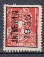 BELGIË - PREO - 1935 - Nr 290A (Mercurius) -  ANTWERPEN 1935 - (*) - Typo Precancels 1932-36 (Ceres And Mercurius)