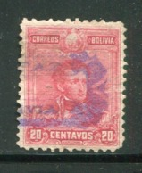 BOLIVIE- Y&T N°64- Oblitéré - Bolivia