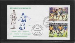 Thème Football - Djibouti Enveloppe - Calcio