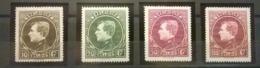 Belgium OBP 289/292 MNH** / Shipping: FREE (REGISTERED) - 1929-1941 Big Montenez