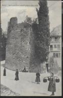 TRENTINO - ARCO - BASTIONE - ANIMATA - EDIZ. LEHRBURGER NURNBERG -  FORMATO PICCOLO - VIAGGIATA 1929 - Other Cities