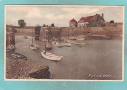 Small Old Post Card Of Porlock Weir,Somerset.,S76. - Altri