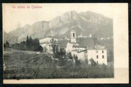 CARTOLINA - Z1745 CALOLZIO (Lecco LC) Un Saluto Da, Con Panorama, FP, Non Viaggiata, Ottime Condizioni (GC) - Lecco