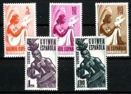 Guinea Española Nº 325/29 En Nuevo - Spanish Guinea