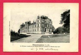 CPA (Réf :Y636) Échouboulains (77 SEINE-et-MARNE) Le Château Transformé En Hôpital Militaire Pendant La Guerre De 14-18 - Francia