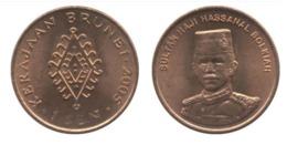 Brunei Darussalam 1 Sen UNC Coin Asia Currency - Brunei