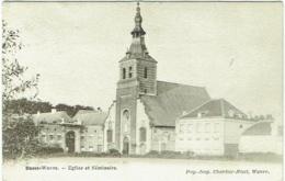 Basse-Wavre. Eglise Et Séminaire. - Wavre