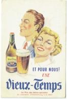Publicité Bière. Mont-Saint-Guibert. Brasserie Grade. Vieux-Temps. - Reclame