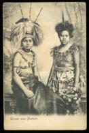 Postcard - SAMOA Oceania - Samoan Chiefs - C.1907 - Samoa Americana