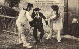 Bretagne  - Soir De Noce - Equilibre ...instable - Breton Ivre - Alcool- C 9449 - Bretagne