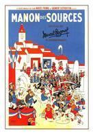 Dubout Pagnol Manon Des Sources - Affiches Sur Carte