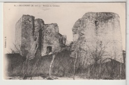 49 - BEAUFORT En VALLÉE - Ruine Du Château - Autres Communes