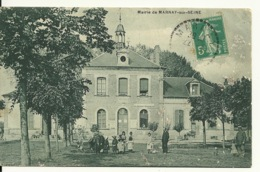 10 - MARNAY SUR SEINE / LA MAIRIE - Francia