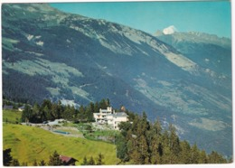 Montana-les-Pins, Alt. 1500 M. - Hotel  'Le Mont Paisible' - Piscine/Swimming-pool/Piscina - VS Valais