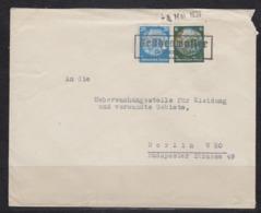 Sudetenland Provisorischer Kasten-o Trübenwasser (b. Trautenau) Und L1 4.Mai 1939 Fernbrief Mit 516,521 - Sudetes