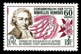 NOUVELLES-HEBRIDES 1968 - Yv. 269 * TB - Bougainville. Légende Française  ..Réf.AFA23237 - French Legend