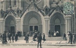 I116 - 06 - NICE - Alpes-Maritimes - Église Notre-Dame - Sortie De Messe - Monuments, édifices