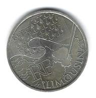 Monnaie, France, Euro, 10 Euros Argent ( LIMOUSIN ) - France