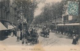 I116 - 06 - NICE - Alpes-Maritimes - Avenue De La Gare - Monuments, édifices