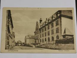Differdange, Maison D'école. P. Houstraas - Cartes Postales