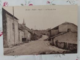 Aisey La Grande Rue Haute Saône Franche Comté - Frankreich