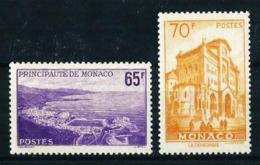 Mónaco Nº 487/8 Nuevo Cat.28€ - Mónaco